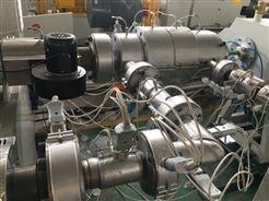 20-63HDPE共挤复合管材生产线 硅芯管挤出机