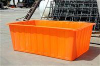 PE塑料方箱推布箱蚌埠厂家定制盖板及轮子
