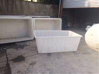 塑料方箱周转箱物流箱池州市厂家可加轮子