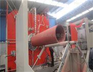 HDPE雙平壁鋼塑復合排水管生產線