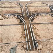 现浇筑拱形骨架钢模具