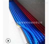 膠管護套螺旋管機生產線