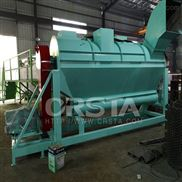 回收廢料滴灌袋處理清洗造粒生產線自動化