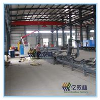 生產保溫管道專用設備新無支架發泡平臺