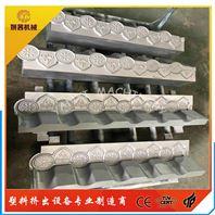 PVC仿古滴水檐脊瓦模具_檐瓦加工设备