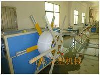 白塑料管生产设备 白色管材生产线