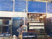 塑膠卡板生產廠家 重慶駿精賽定制吸塑機 雙層厚片吸塑機圖