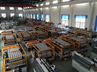 1050 PVC塑料中空復合瓦機器設備生產線