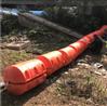 水電站水域攔污浮體 河道閘口處浮體