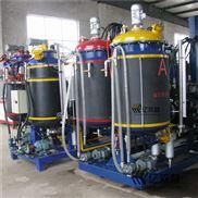 制造慢回弹发泄球聚氨酯大型高压发泡机