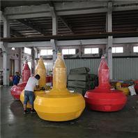 水域左右通航浮标高强度柱形塑料浮标参数