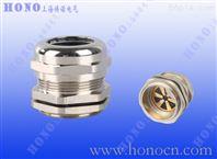 黄铜镀镍屏蔽电缆接头,EMC金属格兰头