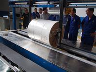薄膜缠绕机 熔喷布缠绕包装机 喜鹊包装
