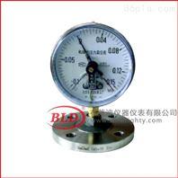 上海布莱迪/磁助电接点隔膜压力表/YX-100