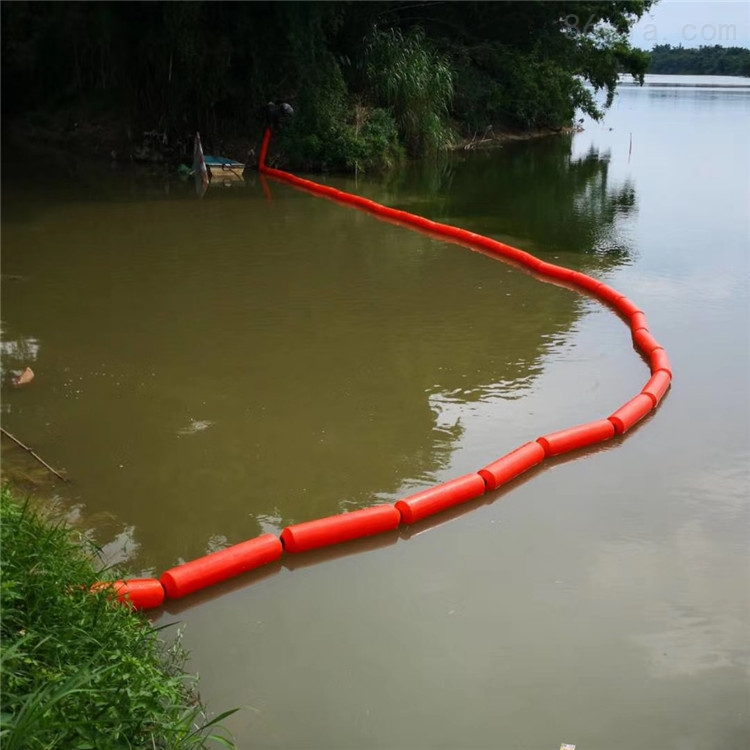 墨脱水电站漂浮物导污排浮式阻截设施