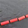 FT60*100水面垃圾拦截设施塑料拦污浮筒规格