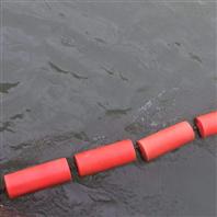 水面垃圾攔截設施塑料攔污浮筒規格