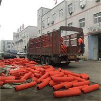 河口村水库拦漂装置浮筒式拦污排特色