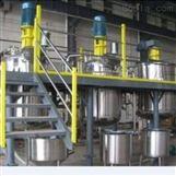 廣西梧州強力分散機不銹鋼反應釜制膠設備