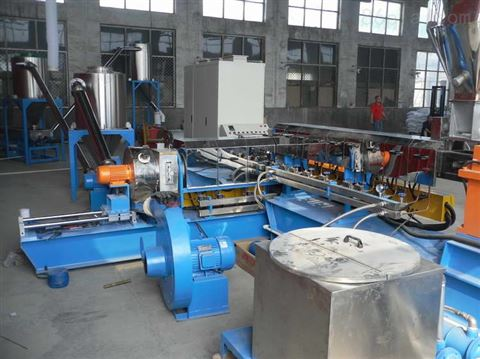 EVA防火母粒 PE阻燃母粒造粒机厂销与配方