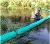 水草拦垃圾浮筒拦截水草浮筒水葫芦拦截型号