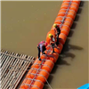 FT40*100漂浮垃圾攔漂網管式攔污排生產廠家
