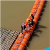 漂浮垃圾攔漂網管式攔污排生產廠家