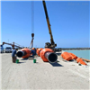 FT70*80*32內河挖沙船浮筒抗風浪管道浮體重量