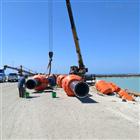 内河挖沙船浮筒抗风浪管道浮体重量
