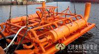 江河鋪纜潛水泵機組_懸吊式_船上載物_礦井