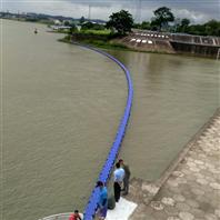 庫區浮式攔汙柵電站擋垃圾浮筒施工