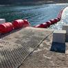 水電站浮式攔污排設計參數