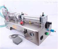 气动定量液体灌装机,洗手液自动灌装单头机