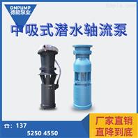 中吸潛水軸流泵廠家及型號