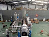 PE三层共挤挤出机复合管硅芯管生产设备