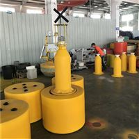FB80内河塑料警示浮标左右通航浮鼓厂家