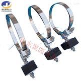 ADSS光缆绝缘引下线夹 电线杆光缆橡胶夹具