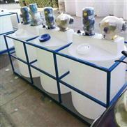 工業廢水處理次氯酸鈉攪拌加藥箱