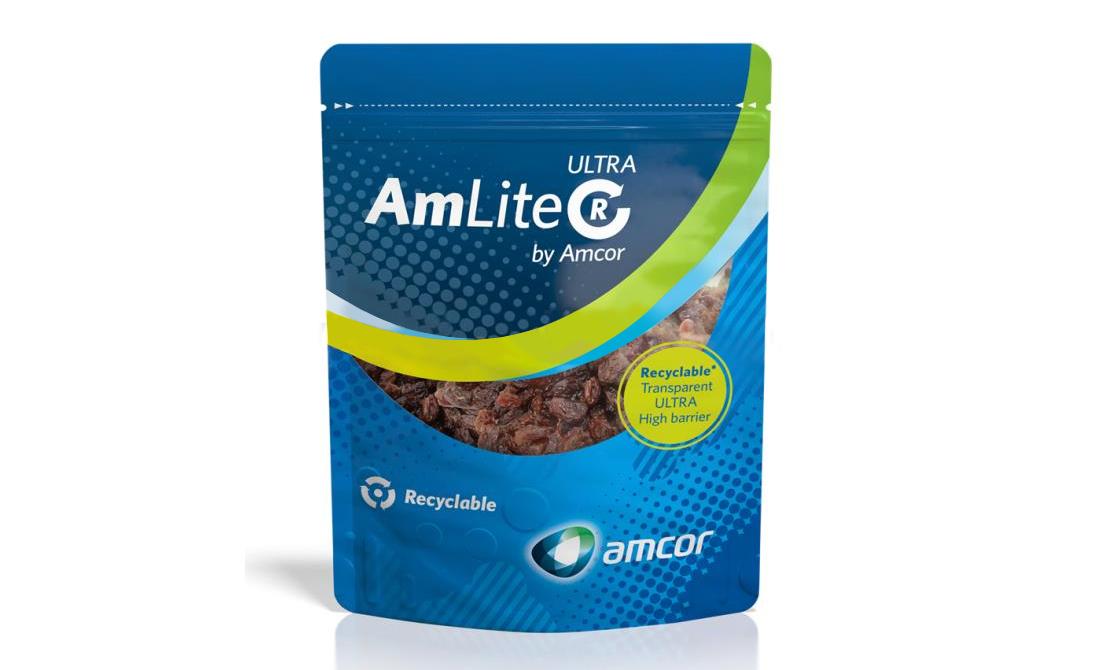 安姆科推出新款可回收高阻隔软包装,可减少高达64%的碳足迹