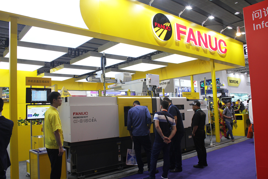 注塑机融合机器人系统:解读FANUC多套塑料加工自动化解决方案