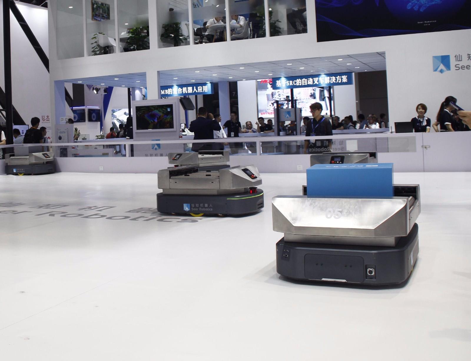 AGV移動機器人:未來競爭新勢力