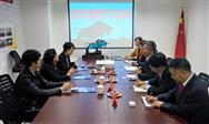 朱文玮理事长会见中国塑料机械工业协会粟东平常务副会长一行